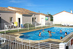 Rental villas with heated swimming-pool