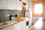 rental lodge with fully furnished kitchen